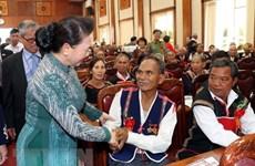 Tay Nguyen : les patriarches appelés à continuer à œuvrer pour le développement local et national