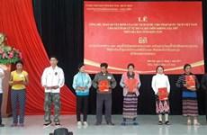 Kon Tum : accès de plusieurs Laotiens à la nationalité vietnamienne