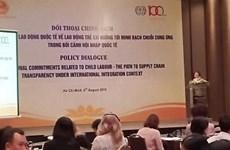 Dialogue sur le travail des enfants à Ho Chi Minh-Ville