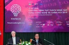 Lancement d'un concours de technologies financières