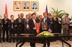 Vietnam et Cambodge renforcent leur coopération dans divers domaines