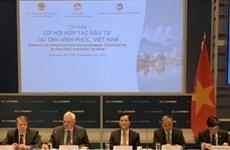 Vinh Phuc promeut l'investissement aux Etats-Unis