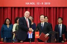 Clôture de la 37e réunion du Comité intergouvernemental Vietnam-Cuba