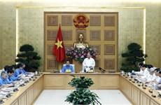 Le Premier ministre travaille avec le présidium de la CGTV