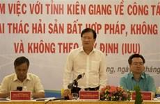 Pêche INN : le vice-Premier ministre Trinh Dinh Dung travaille avec Kien Giang
