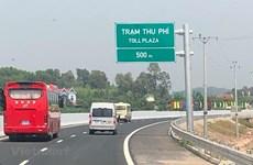 Le vice-PM Trinh Dinh Dung assiste à l'ouverture technique de l'autoroute Bac Giang – Lang Son