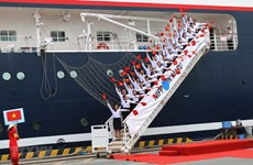 Le bateau de la jeunesse d'Asie du Sud-Est à Ho Chi Minh-Ville