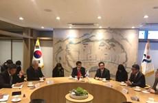 Hanoï et Séoul renforcent leur coopération
