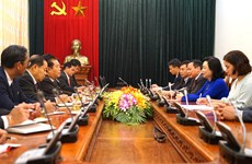 Renforcement des relations entre Hanoï et Vientiane (Laos)