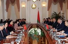La présidente de l'AN termine sa tournée en Russie et en Biélorussie