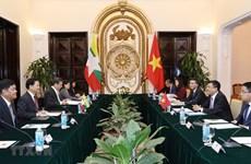 Renforcement de la coopération intégrale entre le Vietnam et le Myanmar