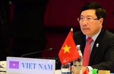Le vice-PM Pham Binh Minh rencontre un haut représentant de l'UE