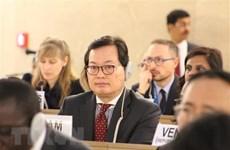 Le Vietnam participe au premier Forum mondial sur les réfugiés en Suisse