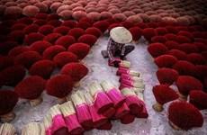 Préservation de la production de bâtonnets d'encens noirs du village de Choa