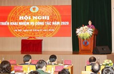 La présidente de l'AN assiste à une conférence sur le travail de l'Audit d'Etat en 2020