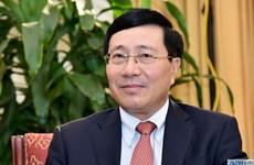 Conseil de sécurité : le vice-PM Pham Binh Minh rencontre des dirigeants de plusieurs pays
