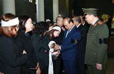 Obsèques des trois policiers décédés dans l'affaire de Dong Tam
