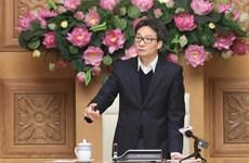 Le vice-PM Vu Duc Dam préside une réunion sur le COVID-19