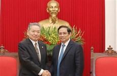 Une délégation du Parti communiste japonais au Vietnam