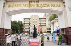 Coronavirus: l'Hôpital Bach Mai accueille des patients graves venus d'autres établissements médicaux