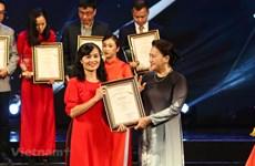 Information pour l'étranger : VietnamPlus affirme sa position avec des prix élevés