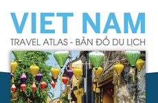 Republication de l'atlas touristique Vietnam Travel Atlas