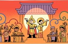 Le « cải lương » à l'honneur sur Google Doodle