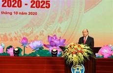 Le PM assiste au Congrès d'émulation patriotique de Hanoï