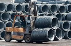 Plus d'un tiers du volume d'acier et de fer du Vietnam exporté en Chine