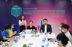 Lancement officiel des Vietnam Smart City Awards 2020