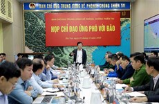 Typhon Etau : un mort lors d'un glissement de terrain à Quang Nam