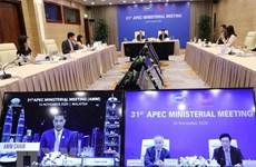 APEC : appel à une communauté économique Asie-Pacifique revitalisée