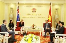 L'ambassadrice de Nouvelle-Zélande reçue par le ministre de la Sécurité publique