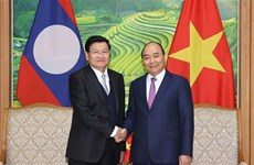 Réunion du Comité intergouvernemental pour la coopération bilatérale Vietnam-Laos