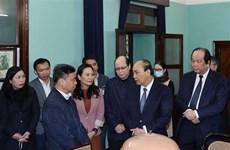 Le PM Nguyen Xuan Phuc rend hommage au Président Ho Chi Minh à la Maison 67