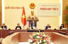 La présidente de l'AN préside la 3e réunion du Conseil électoral national