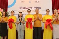 Hai Phong : inauguration d'un bureau de service pour soutenir les femmes migrantes rapatriées
