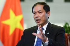 Le nouveau ministre Bui Thanh Son présente les priorités diplomatiques du Vietnam