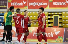 Futsal : le Vietnam est à deux matches de la Coupe du Monde