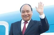 Le président Nguyen Xuan Phuc part pour une visite à Cuba et le débat général de l'ONU