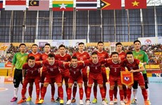 L'équipe de futsal du Vietnam s'entraîne en Espagne