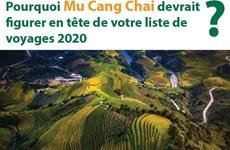 Pourquoi Mu Cang Chai devrait figurer en tête de votre liste de voyages 2020?