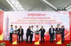 Vietjet Air lance de nouvelles routes reliant Can Tho à Taïwan et à la République de Corée