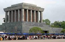 Têt 2020 : plus de 25.000 visiteurs au mausolée de Hô Chi Minh