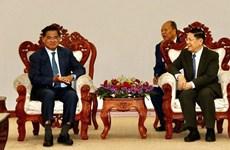 Le Cambodge et le Laos renforcent leur coopération dans la sécurité des frontières