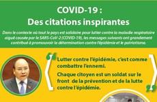 COVID-19 : Des citations inspirantes