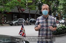 COVID-19 : L'ambassadeur britannique envoie un message à ses concitoyens vivant au Vietnam