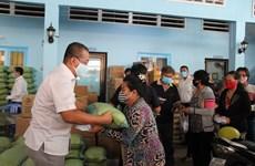 COVID-19 : soutien   à la communauté des Cambodgiens d'origine vietnamienne