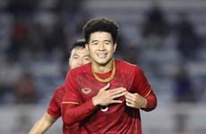 L'attaquant Ha Duc Chinh rejoint la campagne «Break The Chain» de l'AFC