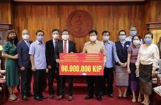 L'ambassade du Vietnam soutient le Laos dans la lutte contre le COVID-19